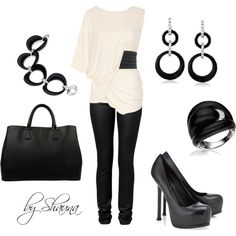 Work Clothes 2012 | Black leather goes classy | Fashionista Trends