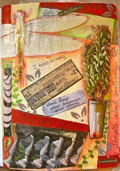 Art Journaling- mixed media