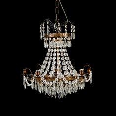 Ljuskrona gustaviansk stil | Stockholms Auktionsverk Online