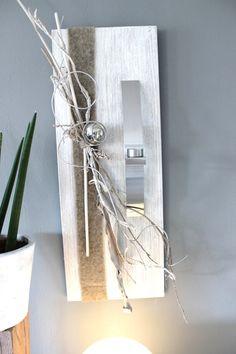 wd37 die etaws andere wanddeko holzbrett gebeizt und wei geb rstet nat rlich dekoriert mit. Black Bedroom Furniture Sets. Home Design Ideas