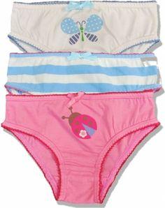 Frugi Βρακάκια από 100% Οργανικό Βαμβάκι Springtime (Σετ των 3) Spring Time, Underwear, Swimwear, Kids, Pants, Fashion, Bathing Suits, Young Children, Trouser Pants