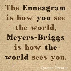 The difference betwe The difference between the enneagram and the Meyers Briggs personality tests how you see the world how the world sees you Personality Psychology, Infp Personality, Psychology Quotes, Different Personality Types, Enneagram Type One, Enneagram Types, Thing 1, Meyers Briggs Personality Test, Infj Infp