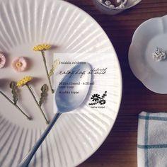 直前のお知らせになってしまいましたが…  いつもお世話になっています、広島のzakka koppeさんにて小さな展示を行います。 平日の2日間ですが、ご都合つきましたらお立ち寄り下さいませ。 ○ ○rainy day, at table○ 2015.6.1(mon) - 6.2(tue) at. zakka koppe  #Tralalala_crochet