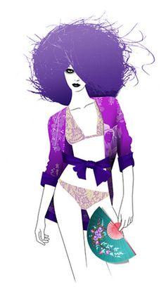 GLAMOUR MAGAZINE GERMANY - TIME FOR STAYING AT HOME WITH YOUR BELOVED by LUIS TINOCO - ILLUSTRATOR, via Flickr