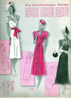 Vintage Fashion June 1938
