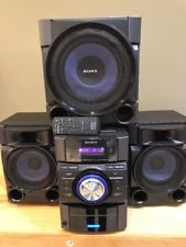 Sony MHC-EC909iP Mini Stereo Hi-Fi Component System w/ Subwoofer/ Remote
