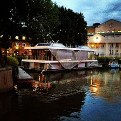 floating house london katherine docks
