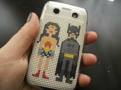 Don't have an iphone, but an android instead and can't use one of those cute cross-stitch-your-own phone cases? make one yourself! : )