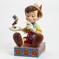 WISH LIST...Just Give A Little Whistle-Pinocchio 75th Anniversary Figurine