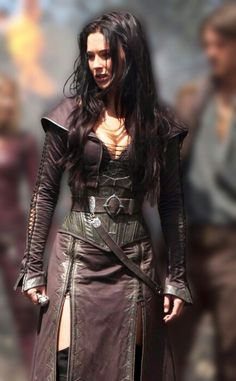 Warrior / leather armor / medieval / cosplay for women / post apocalyptic inspiration