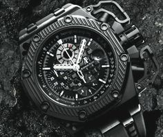 Audemars Piguet Royal Oak Offshore Survivor. I think this would be my desert island watch, just because I am pretty sure it'd last me forever.