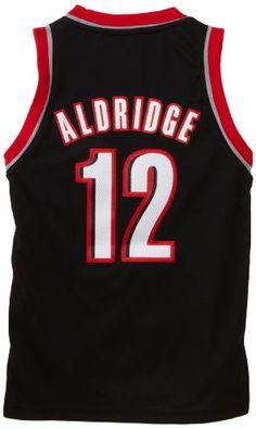 NBA Portland Trailblazers LaMarcus Aldridge Swingman Road Youth Jersey, Black, Large - http://weheartnyknicks.com/around-nba/nba-portland-trailblazers-lamarcus-aldridge-swingman-road-youth-jersey-black-large