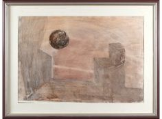 Jan-Kenneth Weckman, sekatekniikka, 59x86 cm - Hagelstam A123