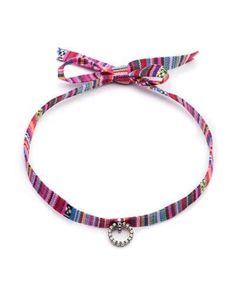 Y3NMZ Dannijo Sabra Striped Choker Necklace