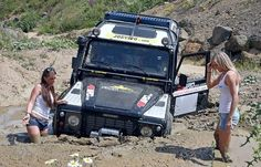 Mental note - Remember to train all potential passengers and drivers how to use the winch!!!