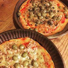 cuisinedemememoniq:  Pizza en tourtière #pizza #pizzas #cuisine...