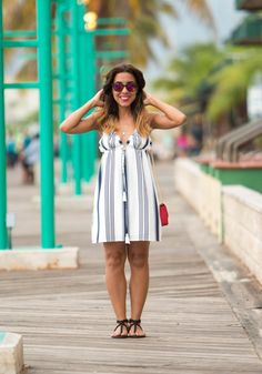 Stripe Dress for daily basis!