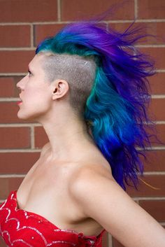 New Hair by Tess Aquarium, via Flickr