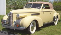 1939 LaSalle model 5027 Opera Coupe Convertible