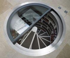 Spiral Wine Cellar - uber cool