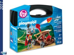 PLAYMOBIL 9106 Carrying Case Knight's Catapult