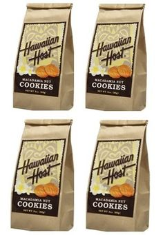 Get off now on [Hawaiian host] [Hawaii souvenir] macadamia nut cookies (about 25 sheets) bags]) Candy Christmas Decorations, Christmas Candy, Hawaiian Cookies, Macadamia Nut Cookies, Hawaiian Islands, Gourmet Recipes, Bakery, Language, Canada