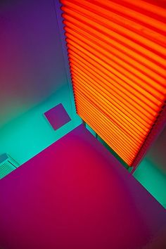 Venezuelan, Carlos Cruz Diez. Cuenca - Museum of Spanish Abstract Art. Castilla - La Mancha. Spain.