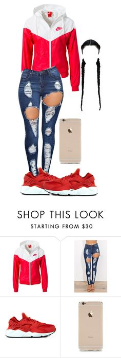 """Like"" by nasza100 ❤ liked on Polyvore featuring NIKE"