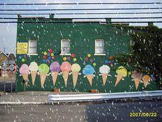 Former ice cream shop in Jamestown,KY