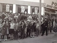 Opening of Powers Supermarket 1965 Thanks to Irish photo Archives for the Photo