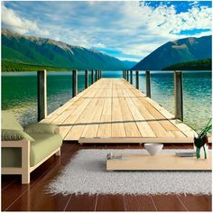Thermal Insulation, Breath Of Fresh Air, Landscape Wallpaper, Decoration Design, Cool Wallpaper, Bridge Wallpaper, Outdoor Furniture, Outdoor Decor, Ecology