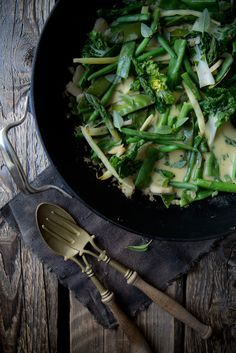 Grünes Curry mit einem Rezept für selbst gemachte Currypaste.