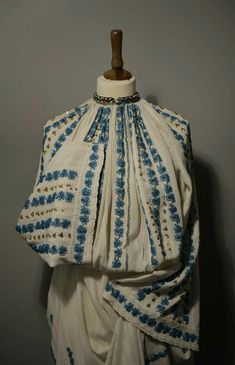 Folk Costume, Costumes, Victorian, Colour, Embroidery, My Style, Clothing, Blue, Dresses