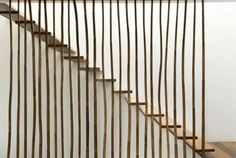 Bamboo cladding surrounds house in the Philippines by Atelier Sacha Cotture Interior Staircase, Staircase Railings, Staircase Design, Stairways, Architecture Details, Interior Architecture, Casa Patio, Courtyard House, Tropical Houses