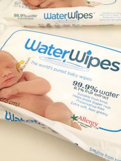 Best baby wipes. Water Wipes. The world's purest baby wipes. Best wipes for sensitive bums. Only wipes you will ever need. I'm not kidding!