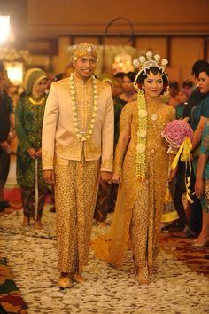 My javanese traditional wedding theme. Kebaya by Diamond Wedding Service, make…