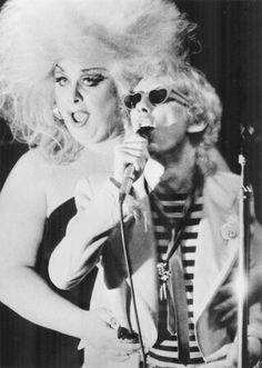 Divine and Stiv Bators, CBGB 1978