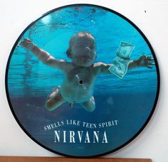 "Nirvana - Smells Like Teen Spirit 12"" Picture Disc Vinyl - 12 inch"