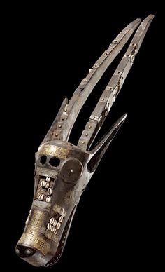 非洲马里马尔卡人面具----ifavart.com(辣椒酱)-最出色的视觉艺术分享