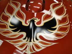 Detail Custom Quot Painted Quot Firebird Trans Am Emblem