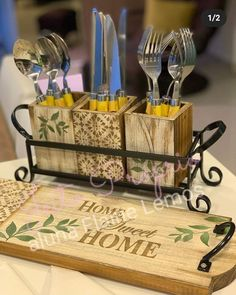 Decoupage Furniture, Decoupage Art, Stencils, Room Decor, Diy Crafts, Projects, Kitchens, Decor Ideas, Wood Paintings