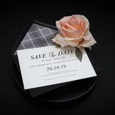 Stationery Design, Wedding Stationery, Wedding Invitations, Tartan Wedding, Gift Vouchers, Bespoke Design, One Design, Glasgow, Save The Date