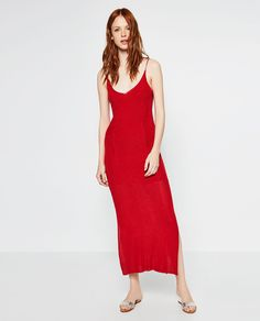 Image 1 of LIMITED EDITION DOUBLE STRAP DRESS from Zara