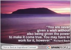 Motivational Quote by Richard Bach motivational personal-development