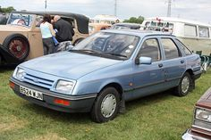 Mk1 Ford Sierra Laser. Rare car these days!