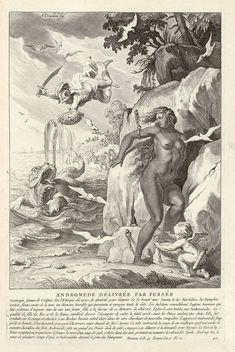 """Bibliothèque de Valenciennes, """"Andromède délivrée par Persée"""", Les Métamorphoses d'Ovide, éd. 1806"""