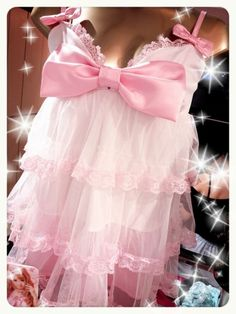 More contemporary and frilly Retro Lingerie, Cute Lingerie, Pink Lingerie, Beautiful Lingerie, Harajuku Fashion, Kawaii Fashion, Cute Fashion, Princess Lingerie, Pink Princess