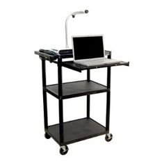 LP Carts Presentation Station AV Book Cart Found it at Wayfair - Luxor Presentation Station in Black Computer Cart, Computer Workstation, Mobile Storage Units, Laptop Tray, Electronics Storage, Utility Cart, Stylish Office, Back To School Shopping, Types Of Doors