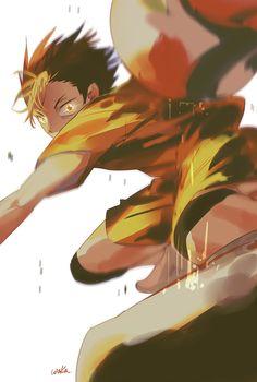 haikyuu nishinoya libra saves the ball
