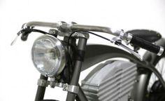 Bike elétrica retrô imita motocicletas de corrida